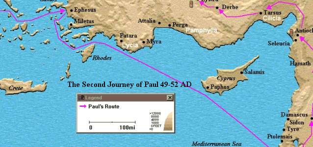 St Pauls First Missionary Journey